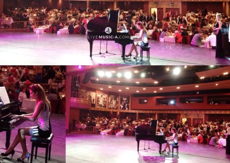 Piano @ Casino du liban, salle des Ambassadeurs