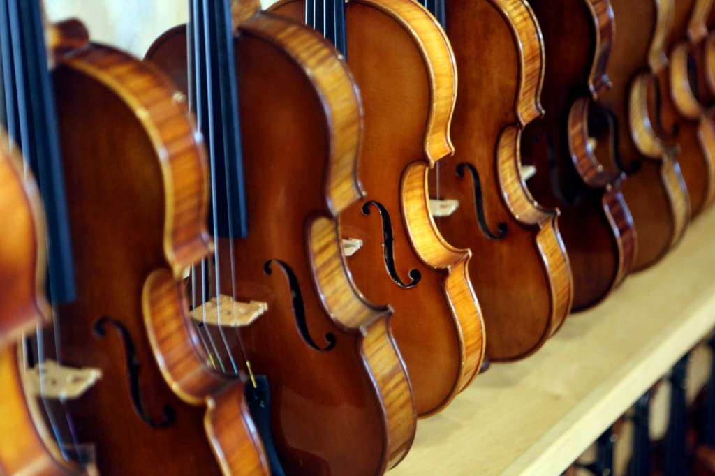 factory made violins