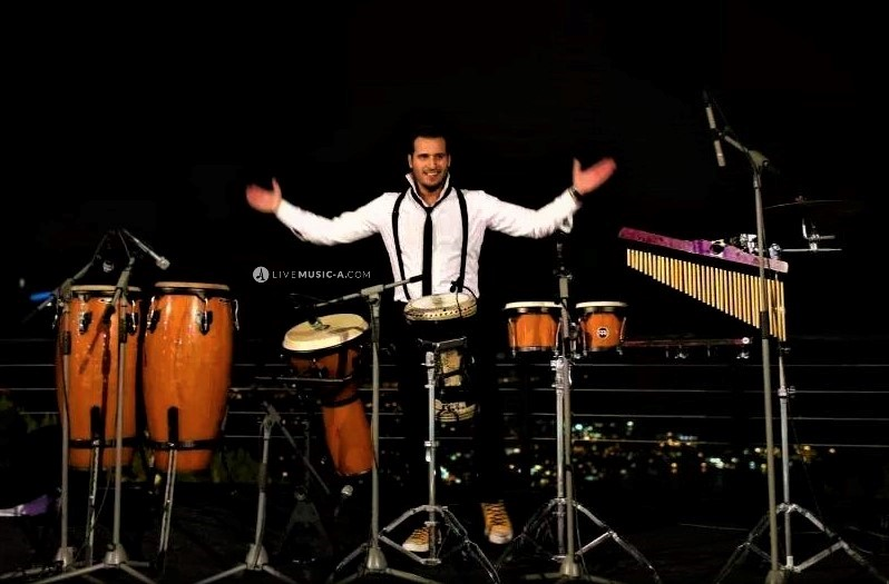 Percussion Show At Chateau Rweiss