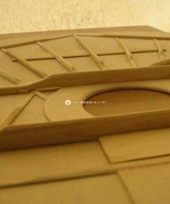 Bracing the top... Spruce top... Fan bracing... Guitar top inner design