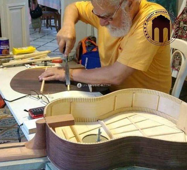 Cellist and Guitar/Violin Luthier Robert Kfouri