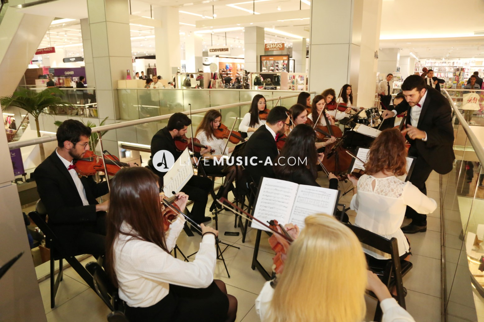 Orchestr-A performing at ABC dbayeh