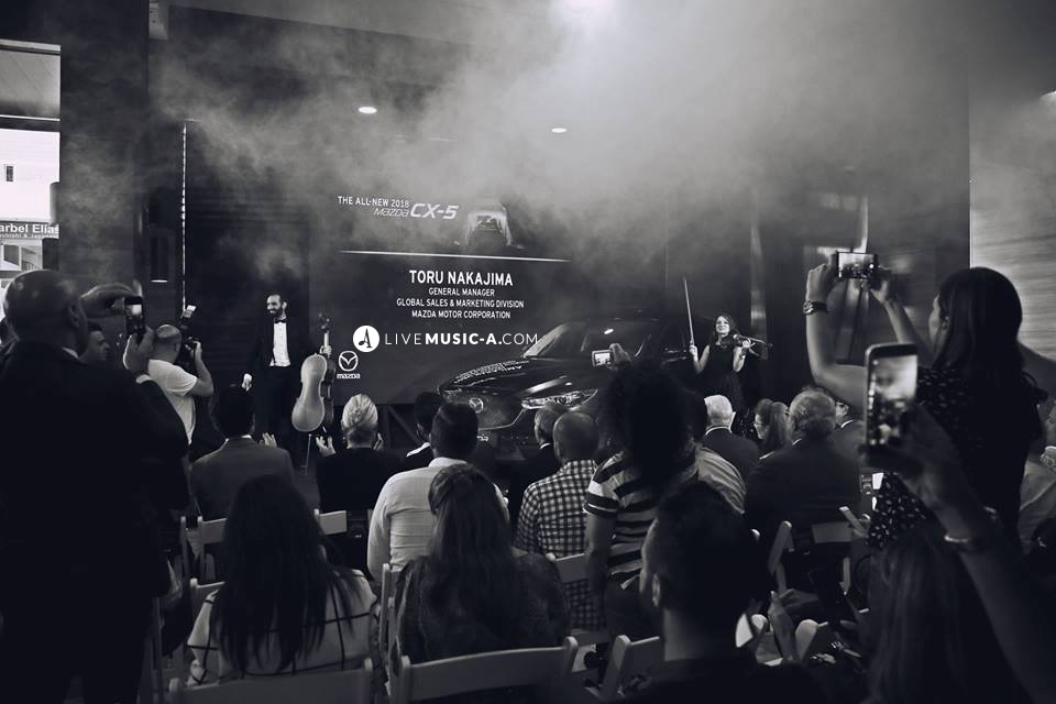 Mazda show room - Car launching