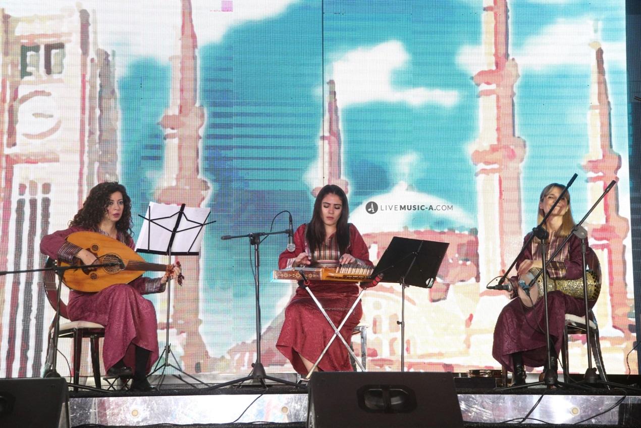 Female Lebanese Oriental Trio