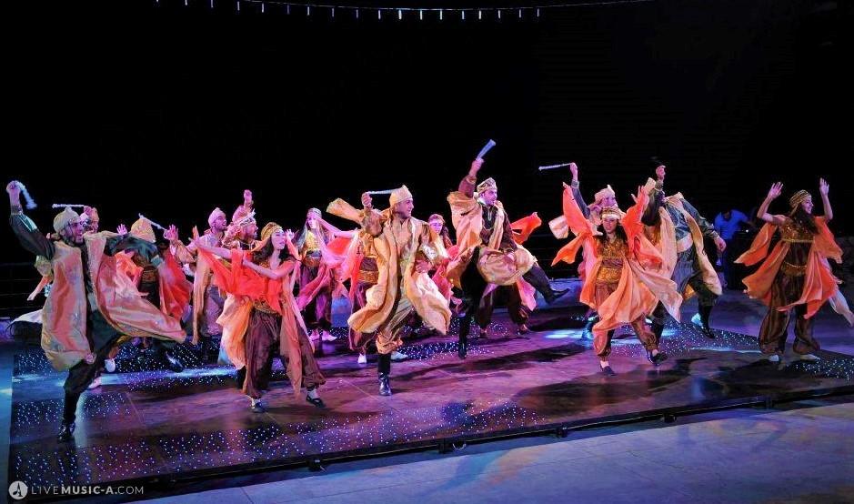 Beautiful colorful Zaffe costumes