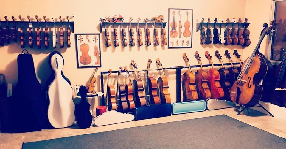 Beirut Violin Shop - The Show Room