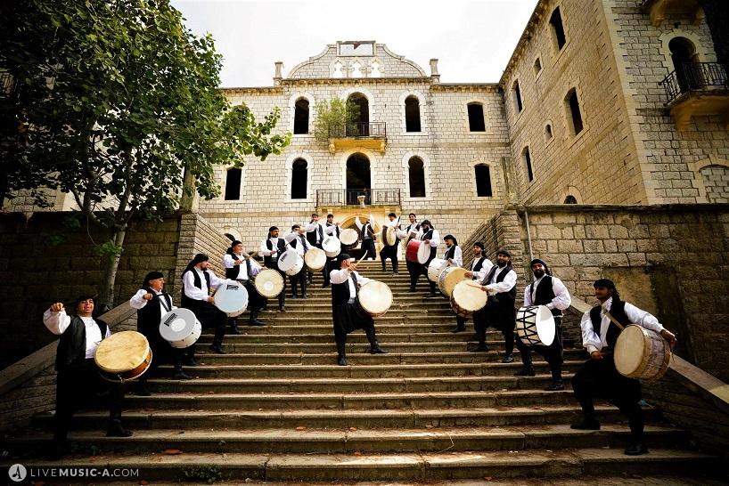 Lebanese Tboule - Tabel - Lebanese traditional drummers