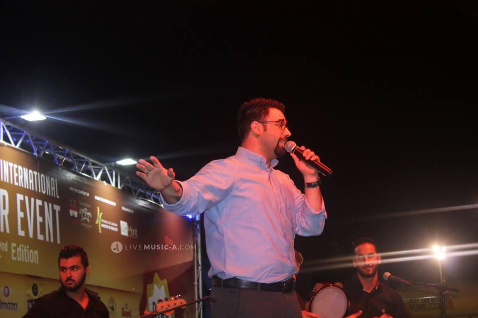 Lebanese Arabic singer Danny M