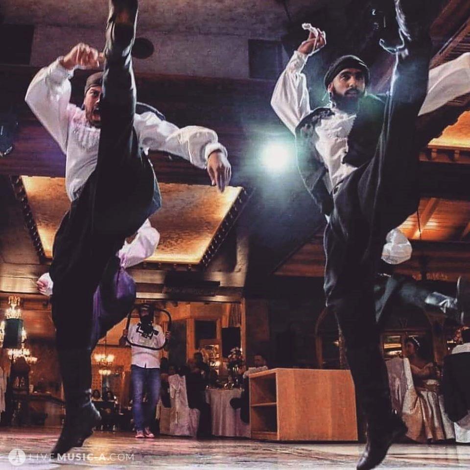 Lebanese male dancers