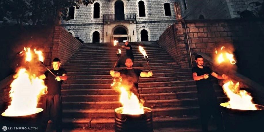 Fire Barrel show