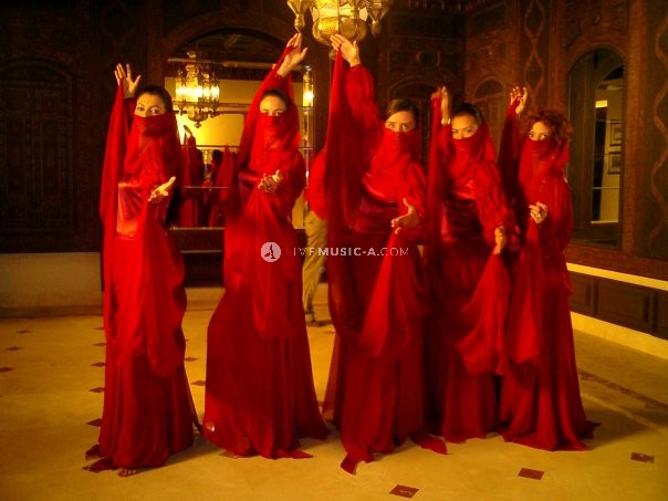 Oriental Harem Choreography