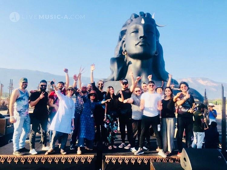 mahashivaratri sadhguru 2020 Lebanese band Sodaf beirut on Board