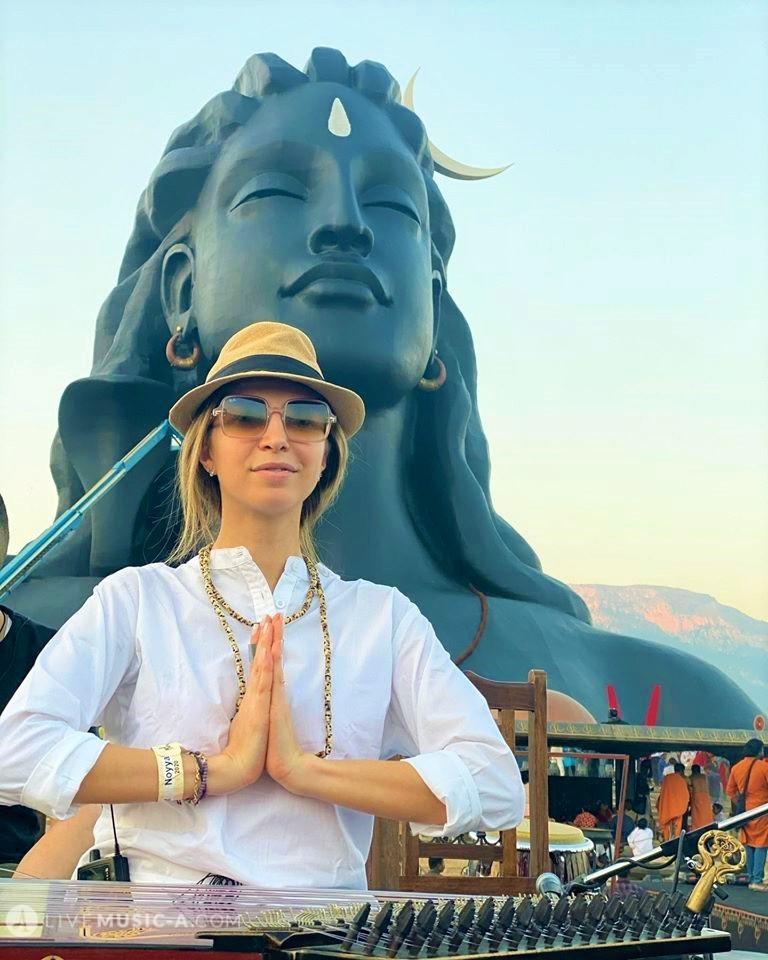 at adiyogi statue - Mahashivaratri 2020 - coimbatore india