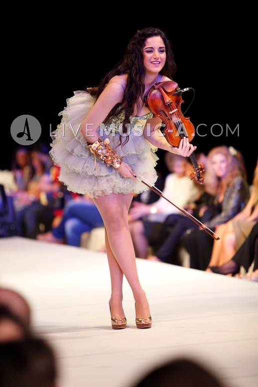 The amazing duchess of the Violin Samira Riachi