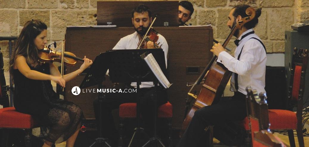 String Trio with church Organ