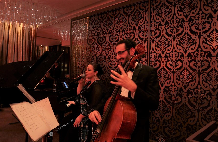 Romantic mood at Eau de vie intercontinental Phoenicia Hotel Beirut