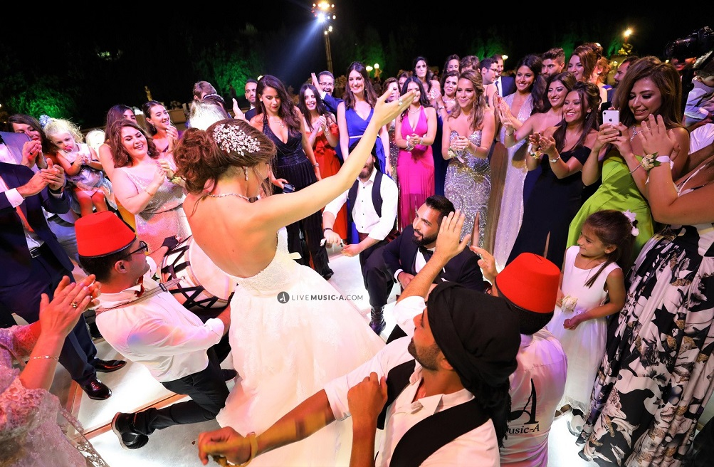 The best zaffe and wedding Hype for the groom and Bride
