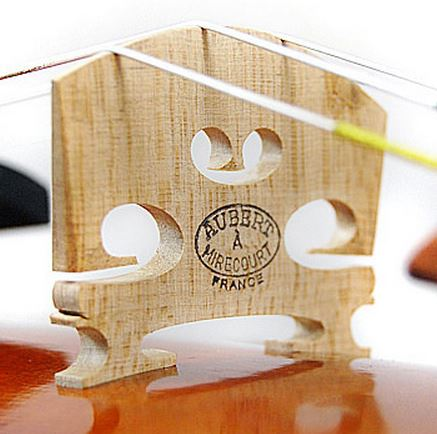 Violin Bridge Setup (using AUBERT A mirecourt - France)