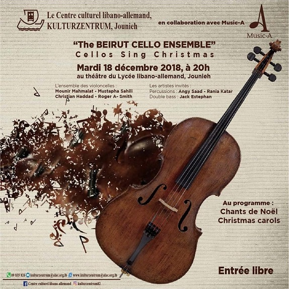 Cellos Sing Christmas by Beirut Cello Ensemble