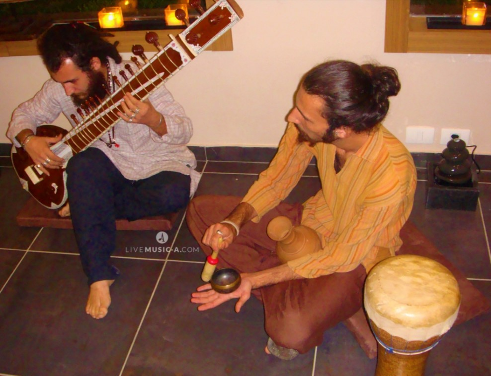 Sitar and Buddha bowl