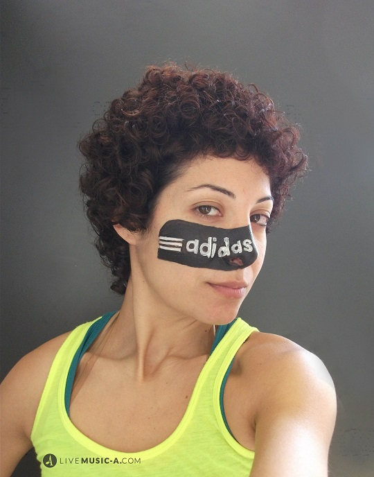 creative face painting for events adidas
