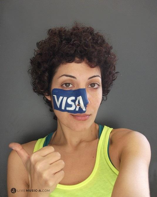Visa Face painting