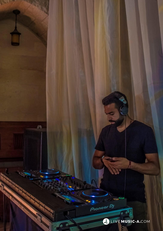 DJ eli at Chateau Rweiss