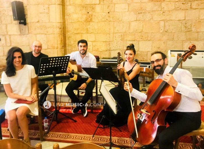 Singer Carine with Quartet