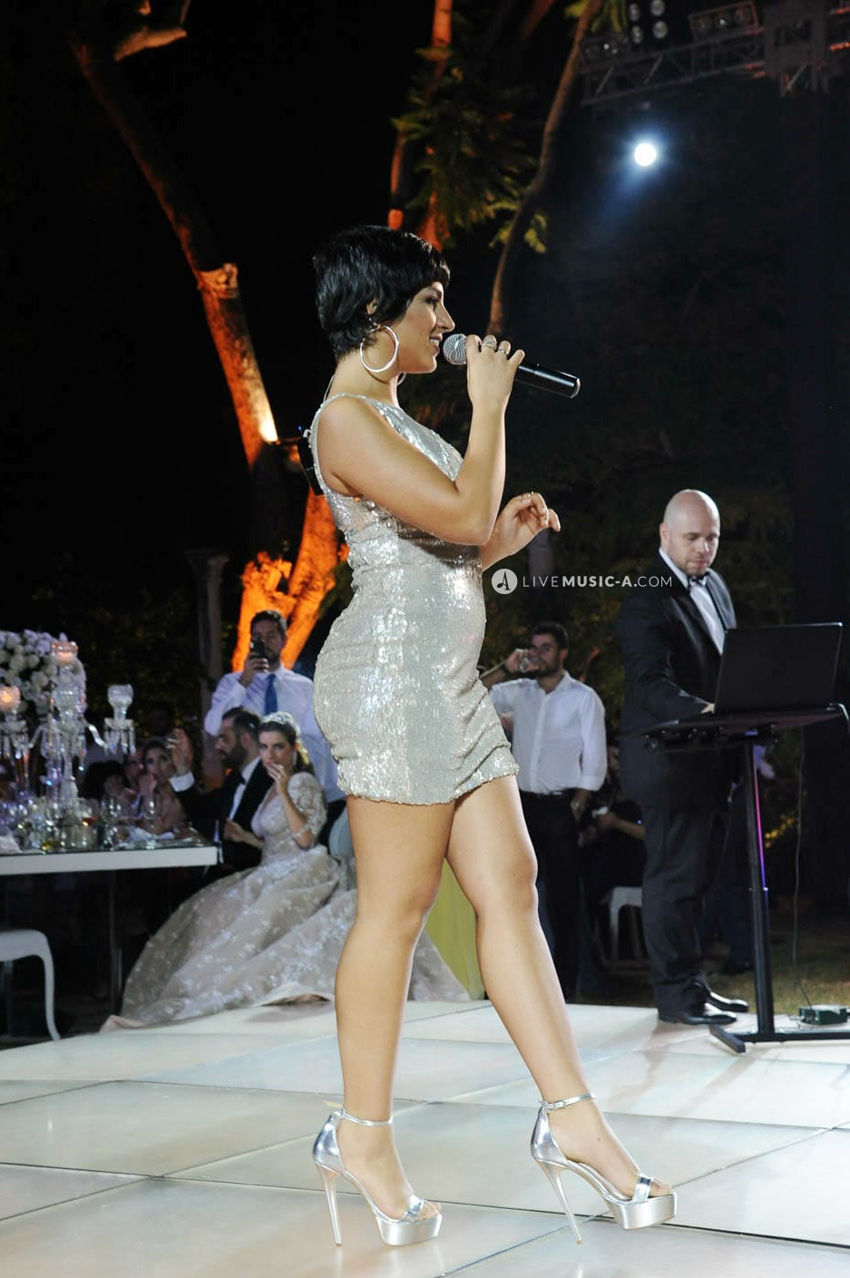 Wedding performance at Sursock Palace - Sursock