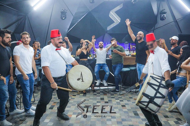 Dabke Time at Steel