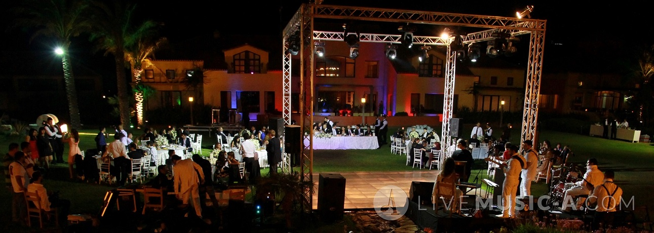wedding theme at batroun village club