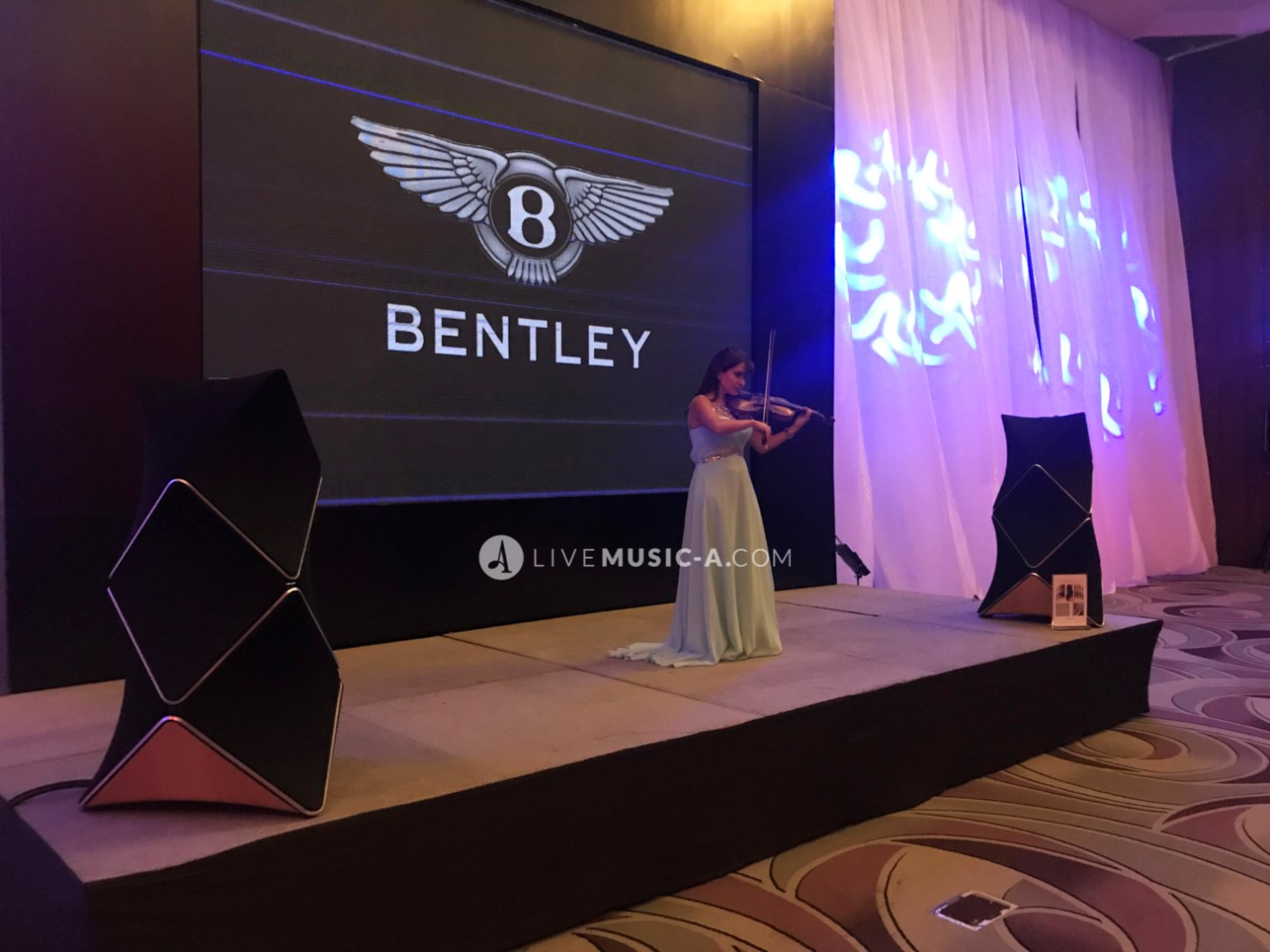 Bentley Bentayga Launching Habtour grand hotel - Hilton Hotels