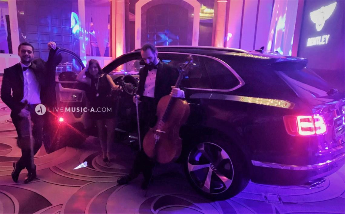 The luxury feel with Bentley