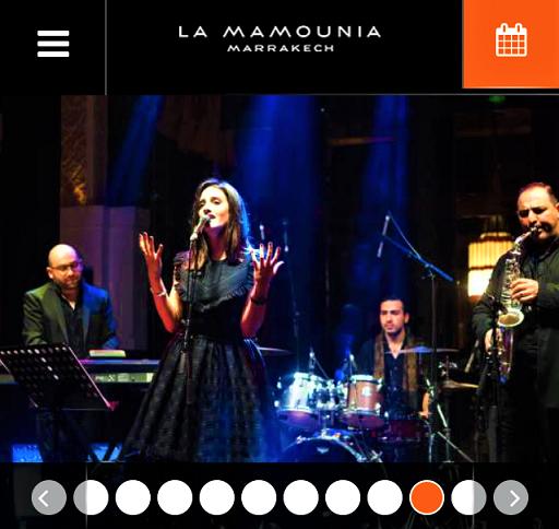 New Year at La mamounia Hotel