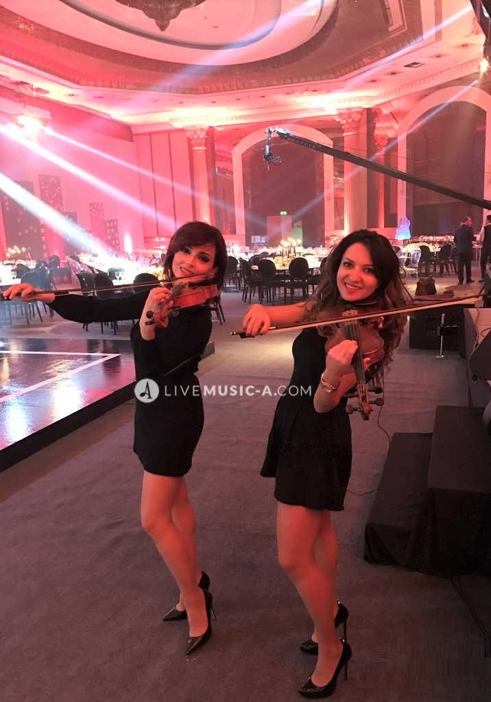 Violin Duo girls