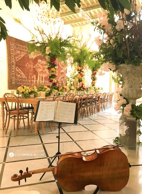 During a wedding Lunch at beyt amir Beirut