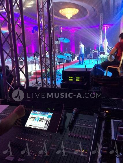 live concert support