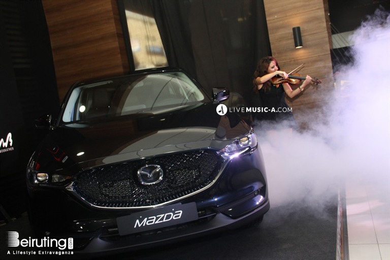 launching for Mazda ANB abu khatter corporate event