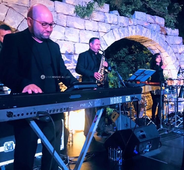 The band at Arnaaoun Village - Batroun