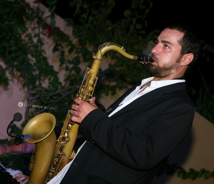 internation saxophonist and composer Bassel Rajoub