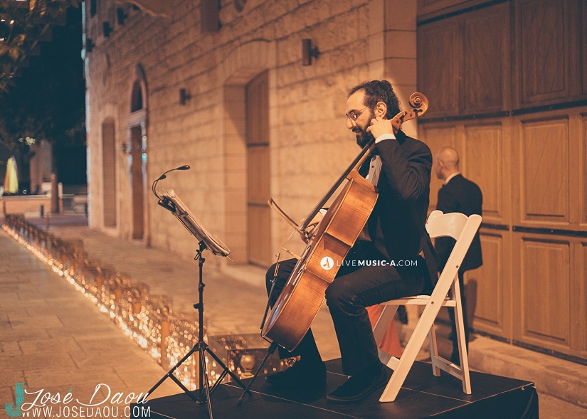 Welcome recepetion with classical music