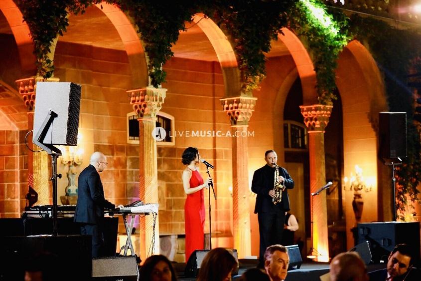 at Sursock Palace the gardens - Beirut