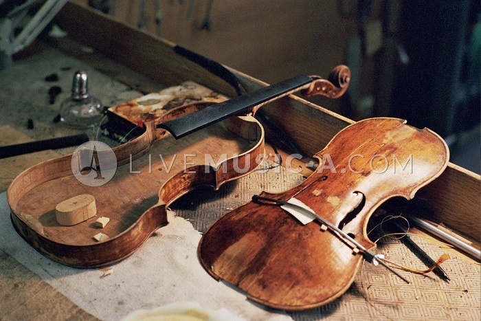 violin repairs - luthier - lutherie - lutheria