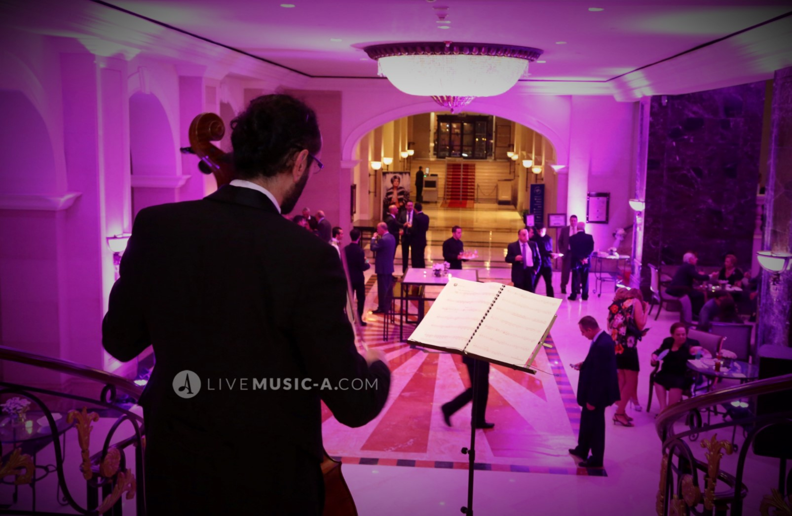 during a reception at Hotel intercontinental Phoenicia