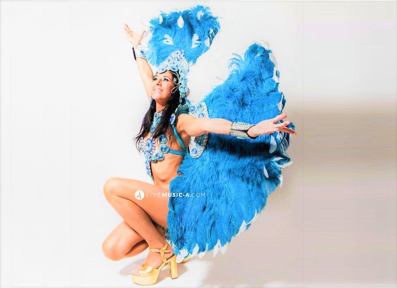 beautiful Samba Costume