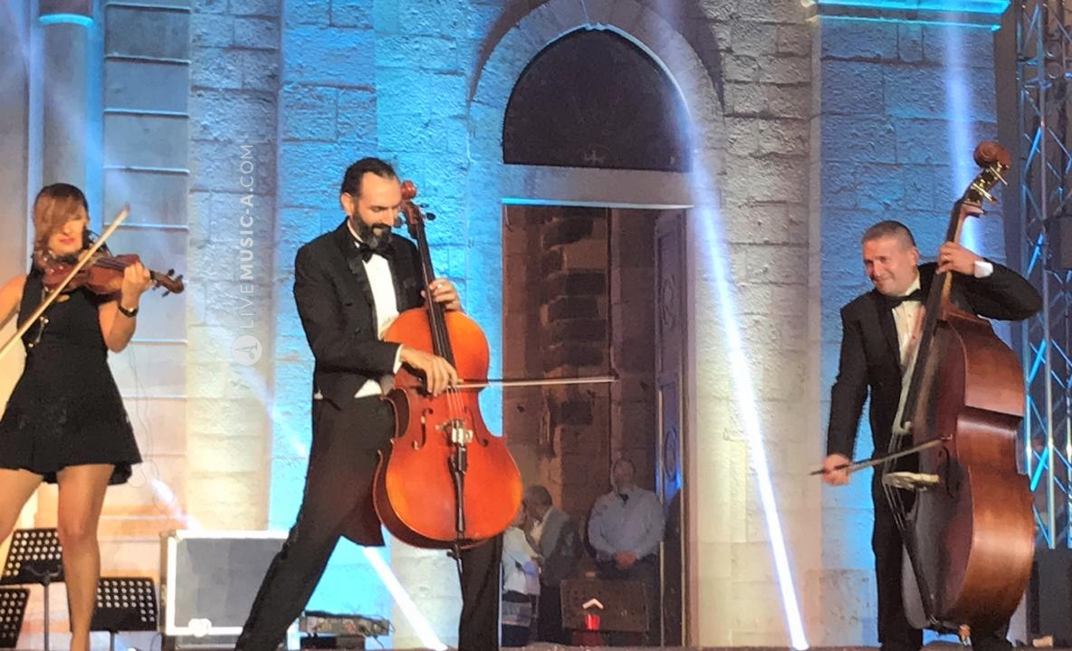 Double bass and cello