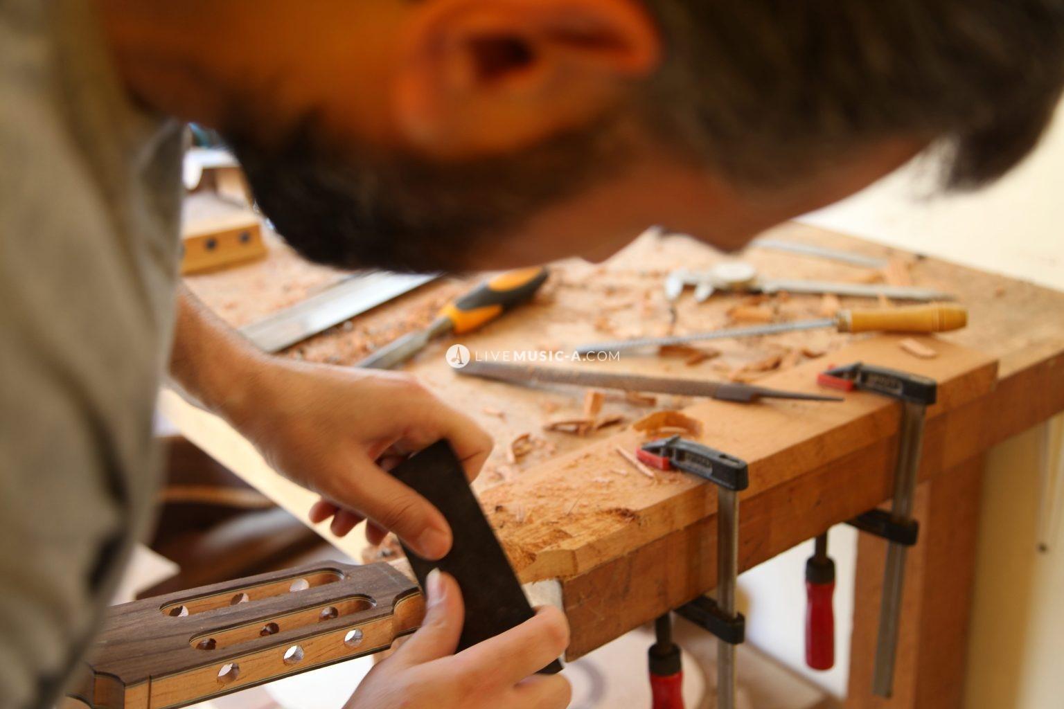 Guitarist and Guitar Luthier Wissam  Nasreddine