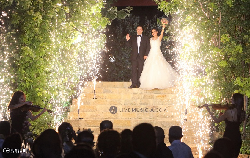 Groom and Bride's entrance