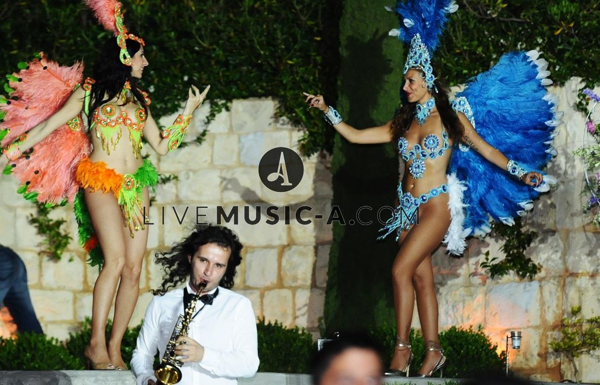 Brazilian dancers - Samba music