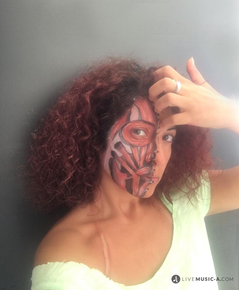 la Santa Muerte - Mexican make up face painting
